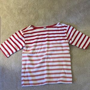 Jcrew stripe shirt sz s